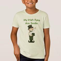 Irish Boy Leprechaun T-Shirt