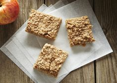 Chewy Apple and Pear OatBars