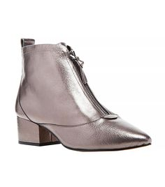 12 Pairs of Metallic Ankle Boots You Can Actually Wear IRL via @WhoWhatWear