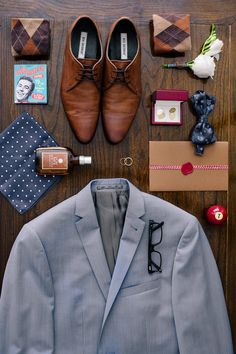 Grooms Flat Lay More