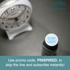 Love Goodies and Dreamwater? Share the love and get your friends and family hooked on Goodies too! They can skip the line and subscribe instantly with this exclusive code: PINSPIRED. Get started >> goodies.co/promo