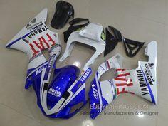 2000-2001 FIAT Yamaha YZF-R1 Valentina Rossi MotoGP Team Motorcycle Fairing Kit www.eddyfairings.com