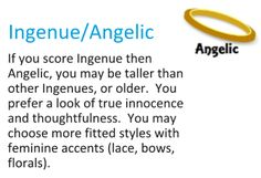 Ingenue Secondaries ~ expressing your truth closet