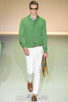 Milan Men's fashion Week: Gucci Signed a Sparkling Playboy (a favourite #fashion repin of www.vipfashionaustralia.com )