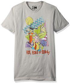 ad852200d8b98b Amazon.com  Cartoon Network Men s 90 s Throwback Johnny T-Shirt  Clothing