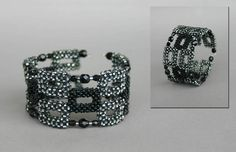 Geometric bracelets by Galina Kolmogorova