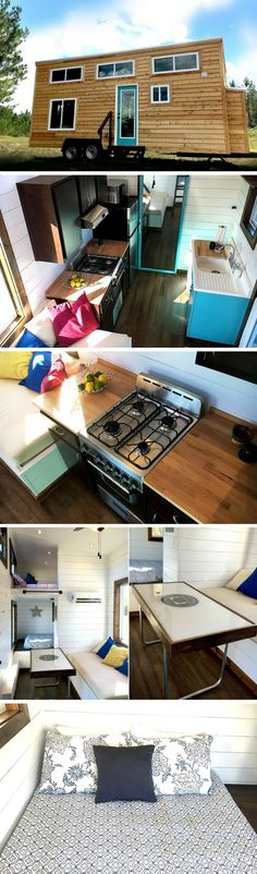 The Youngstown: a 270 sq ft tiny house on wheels by Harmony Tiny Homes