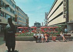 Nog zo'n mooie van de Promenade met het beeld van Dr. Poels