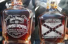 Jack Daniel's - Lynyrd Skynyrd. Jack Daniels Wallpaper, Tennessee Whiskey, Lynyrd Skynyrd, Scotch, Hard Rock, Bourbon, Hand Guns, Whiskey Bottle, Illustrations