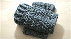 Πλεκτες Γκετες με Βελονακι - YouTube Crochet Videos, Knitted Hats, Knitting, Crochet Baby, Youtube, Fashion, Gloves, Crocheting, Moda