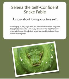 Selena the Self-Confident Snake Fable Melbourne Hypnotherapy