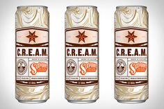 The Mad Scientists at Sixpoint are at it again with their latest offering Sixpoint C.R.E.A.M. The new release is brewed with a blend of pilsner and two-row pale and crystal malts. It's then stored cool and blended with cold-brewed coffee...