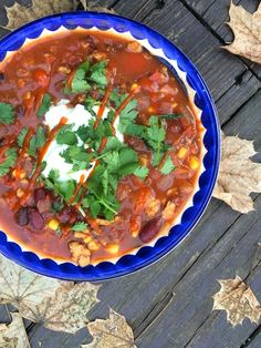 Turkey Black Bean Chili with Sriracha and Yogurt