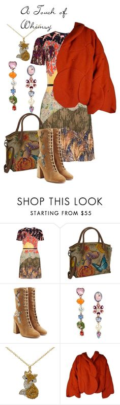 """""""A Touch of Whimsy"""" by dreamcatcher51 ❤ liked on Polyvore featuring Valentino, Anuschka, RED Valentino and Betsey Johnson"""