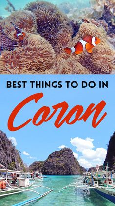 Head over to Coron, one of the amazing destinations that have made Palawan the world's best island year after year. From pristine white beaches to stunning blue lakes, this is the tropical holiday you've been dreaming of. Click through for the best things Coron Palawan Philippines, Philippines Travel, Palawan Island, Asia Travel, Travel Tips, Travel Guides, Travel Nepal, Travel Plane, Travel Advise