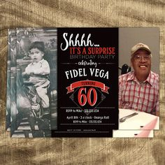 50th Birthday Invitation for Men JPEG printable Aged to