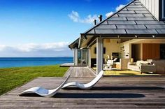 contemporary beach house plan   Contemporary Beach Home Architectural Style, Design And Style And Plan ...