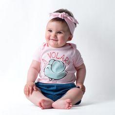 Camiseta yosiquesera para bebé - a volar! #yosíquesé #camisetaconestilo #avolar #diseñosconalma #camisetabebé #algodónorgánico