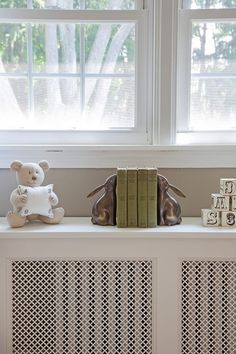 Grew up in house with radiator covers like this. Love.