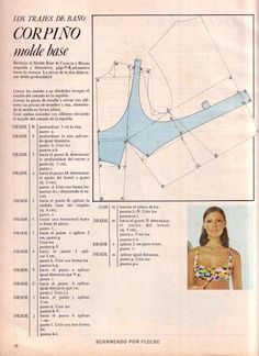 How to draft a bra Underwear Pattern, Lingerie Patterns, Sewing Lingerie, Bra Pattern, Clothing Patterns, Sewing Patterns, Doily Patterns, Dress Patterns, Techniques Couture