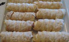 Rychlé a jednoduché na přípravu. Trubičky plněné lahodným krémem budou oblíbenou sladkostí ve Vaší domácnosti. Stačí vyzkoušet. Krispie Treats, Rice Krispies, Sausage, Sweets, Cheese, Baking, Vegetables, Desserts, Food
