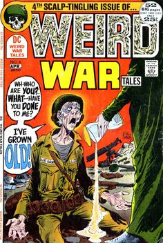 Weird War Tales 4 - Joe Kubert cover