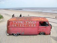 VW Type Two Dectives Panel Van
