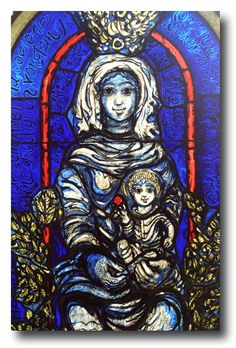 The sacristy window by Hans Gottfried von Stockhausen is called the Seattle Madonna.