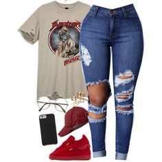 A fashion look from August 2016 featuring Puma sneakers, Apt. 9 rings and ASOS hats. Browse and shop related looks.