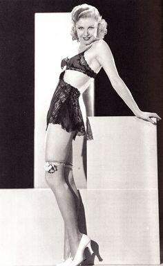 "sparklejamesysparkle: "" Ginger Rogers, publicity portrait for the ""Professional Sweetheart"", "" Hollywood Lingerie, Old Hollywood Glamour, Golden Age Of Hollywood, Vintage Hollywood, Hollywood Stars, Classic Hollywood, Hollywood Icons, Ginger Rogers, Divas"