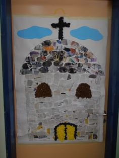 Church mosaic witness to faith idea? Easter Art, Easter Crafts, Easter Religious, Art For Kids, 4 Kids, National Holidays, Work Activities, Sunday School Crafts, Greek Art