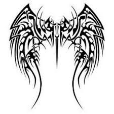 Resultado de imagen para tatuajes de alas de angeles