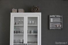 Snapshots: My Home #vitrinekast #Hemnes #Ikea #interieur