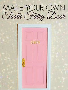 DIY Tooth Fairy Door | DETTE CAKES  sc 1 st  Pinterest & Tooth Fairy door Tooth Fairy Door Kit children by Lapicesdecolores ... pezcame.com