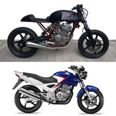"""Before & After LBC """"THE ANT"""" 250cc potenciado. #caferacer #caferacersofinstagram #caferacerporn #caferacerxxx #bikeexif #bikeshed…"""
