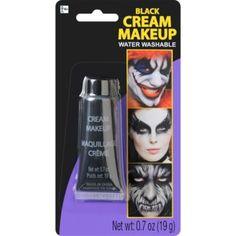 Cream Black Makeup - Party City