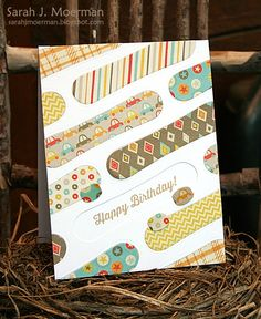 Such a Fun card by Sarah Moerman using Simon Says Stamp Exclusives.  October 2014