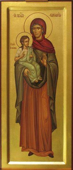 St Elizabeth with St John the Baptist / ИКОНОПИСНЫЙ ПОДЛИННИК's photos – 8,757 photos   VK