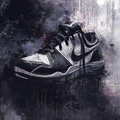 #shoe  #inspiration  #design  #black  #grey  #nike  #Illustration