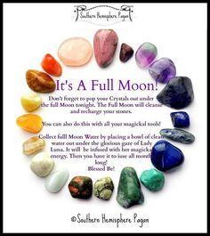 It's a full moon