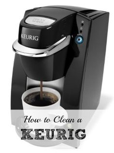 How to clean your #keurig #coffee machine