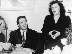 Marcel Cerdan and Edith Piaf, 1940s