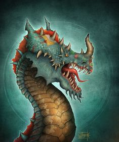Indian Dragon by Anant-art.deviantart.com on @DeviantArt..