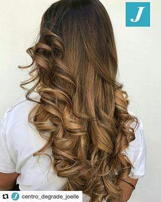 Fall Style _ Degradé Joelle #cdj #degradejoelle #tagliopuntearia #degradé #igers #musthave #hair #hairstyle #haircolour #longhair #ootd #hairfashion #madeinitaly #instagood #wellastudionyc #matera