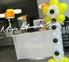 Magic with Balloons! Magic Moments Events @ Nailbar Beauty Lounge