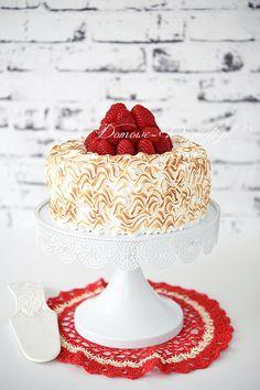 Tort malinowa dama