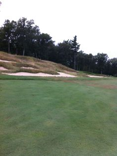 Fort Devens Military Base - more specifically Red Tail Golf Course - those sand traps were tank bunkers