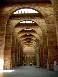 Museo Romano de Mérida, del arquitecto Rafael Moneo