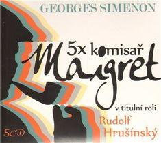 5x komisař Maigret [Audio na CD] - Georges Simenon | Kosmas.cz - internetové knihkupectví