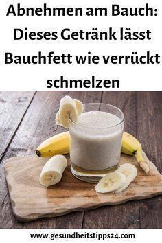 Abnehmen am Bauch: Dieses Getränk lässt Bauchfett wie verrückt schmelzen #Gesundeernährungrezepte #denBauchverlieren #Fitnesschallenge #Bauch #Getränk